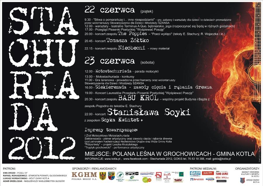Stachuriada 2012