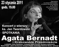 Agata Bernadt - Krakowskie Przedmieście - Spotkania: Kraków 23.01