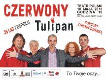 Czerwony Tulipan w Teatrze Polskim w Poznaniu - 10 maja