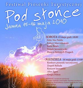 Festiwal Piosenki Turystycznej - Jamna 2010