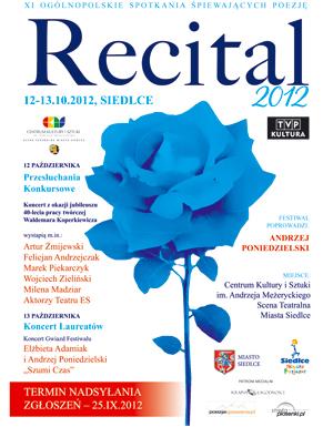 XI Ogólnopolskie Spotkania Śpiewających Poezję 12-13 październik
