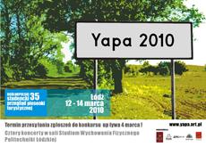 Yapa 2010 - Łódź 12/14 marca 2010r